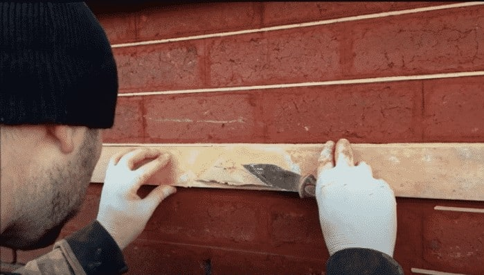 tuckpointing project in the tower grove area